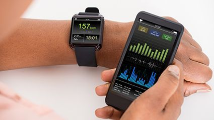 News Picture: Can Fitbits Be a Dieter's Best Friend?
