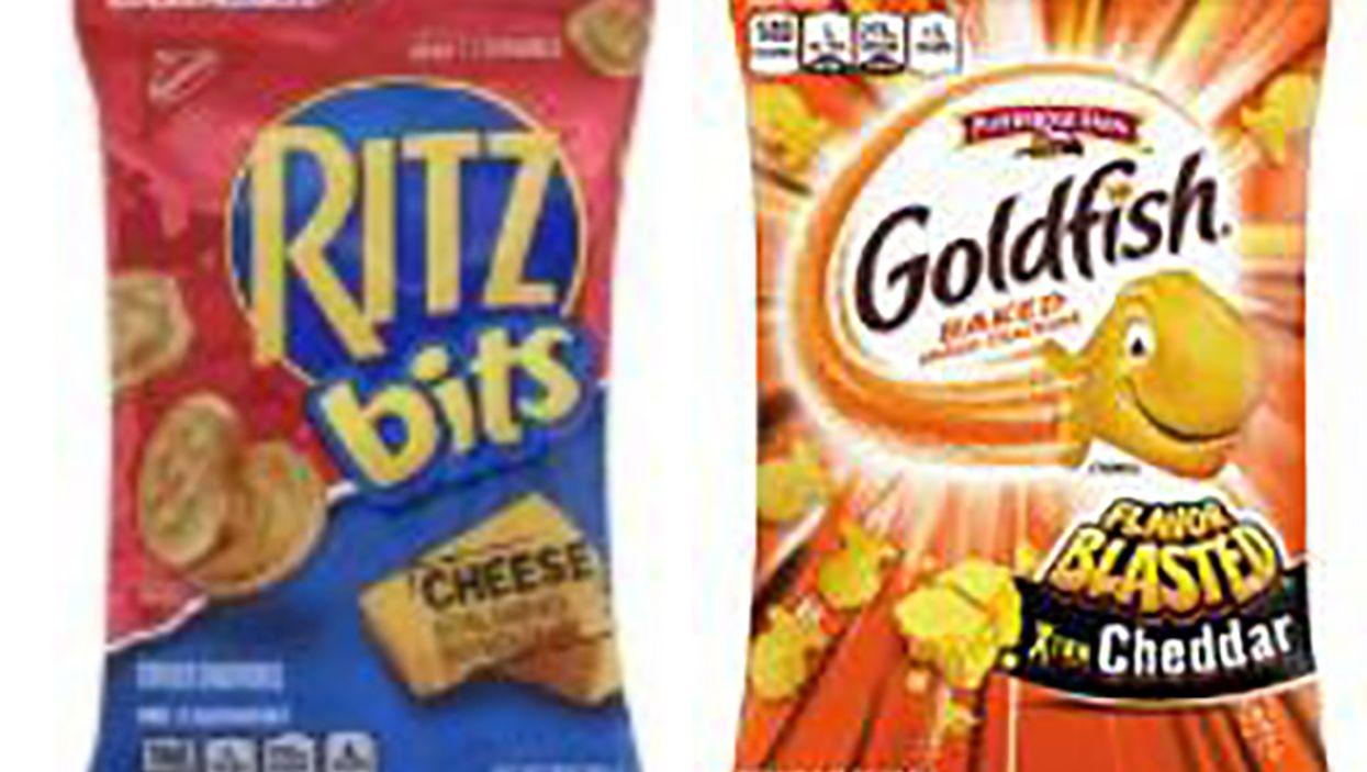 Whey recalls of Ritz crackers, Pepperidge Farm Goldfish