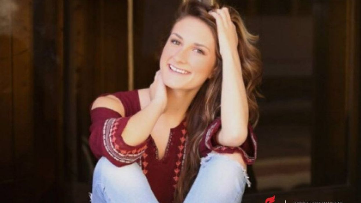 Emma Baker, now 19, had a cardiac arrest in the 8th grade
