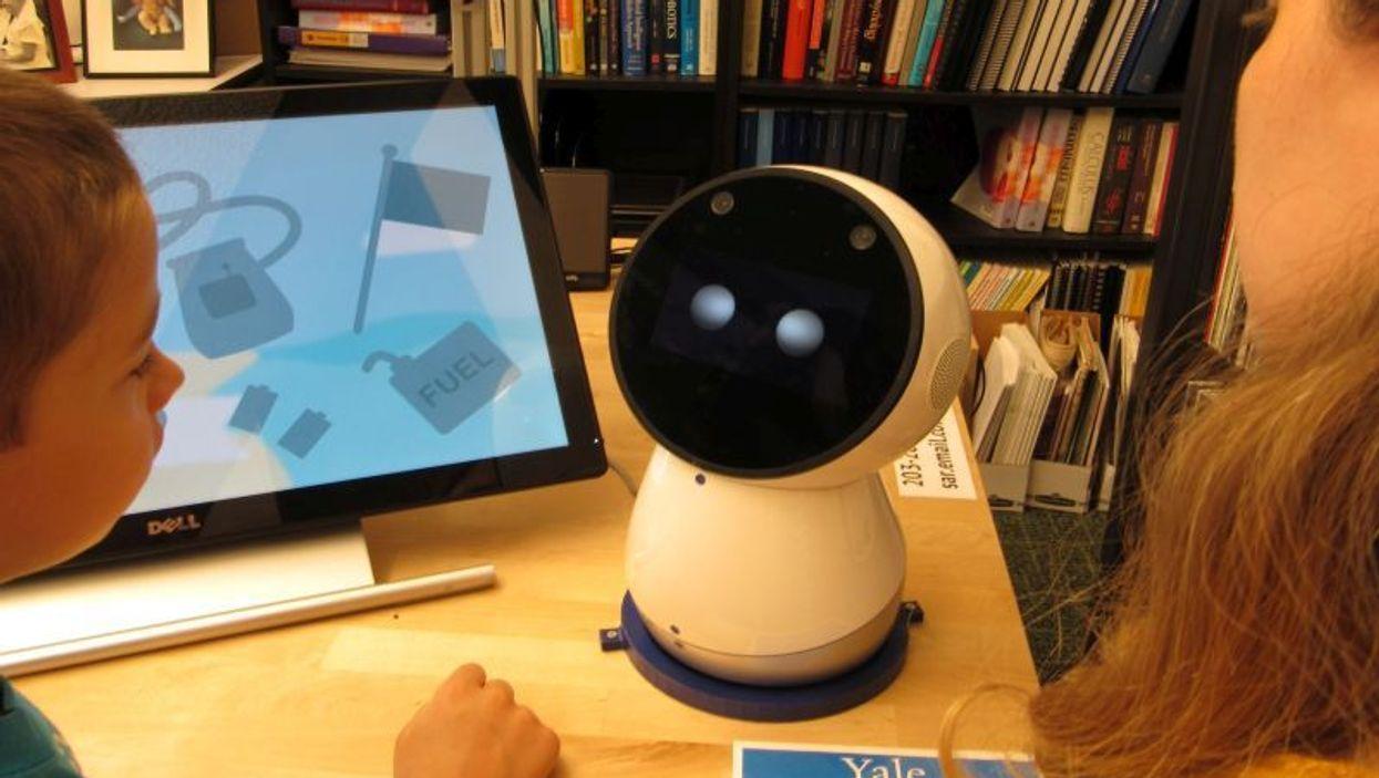 Using the \'social robot\'