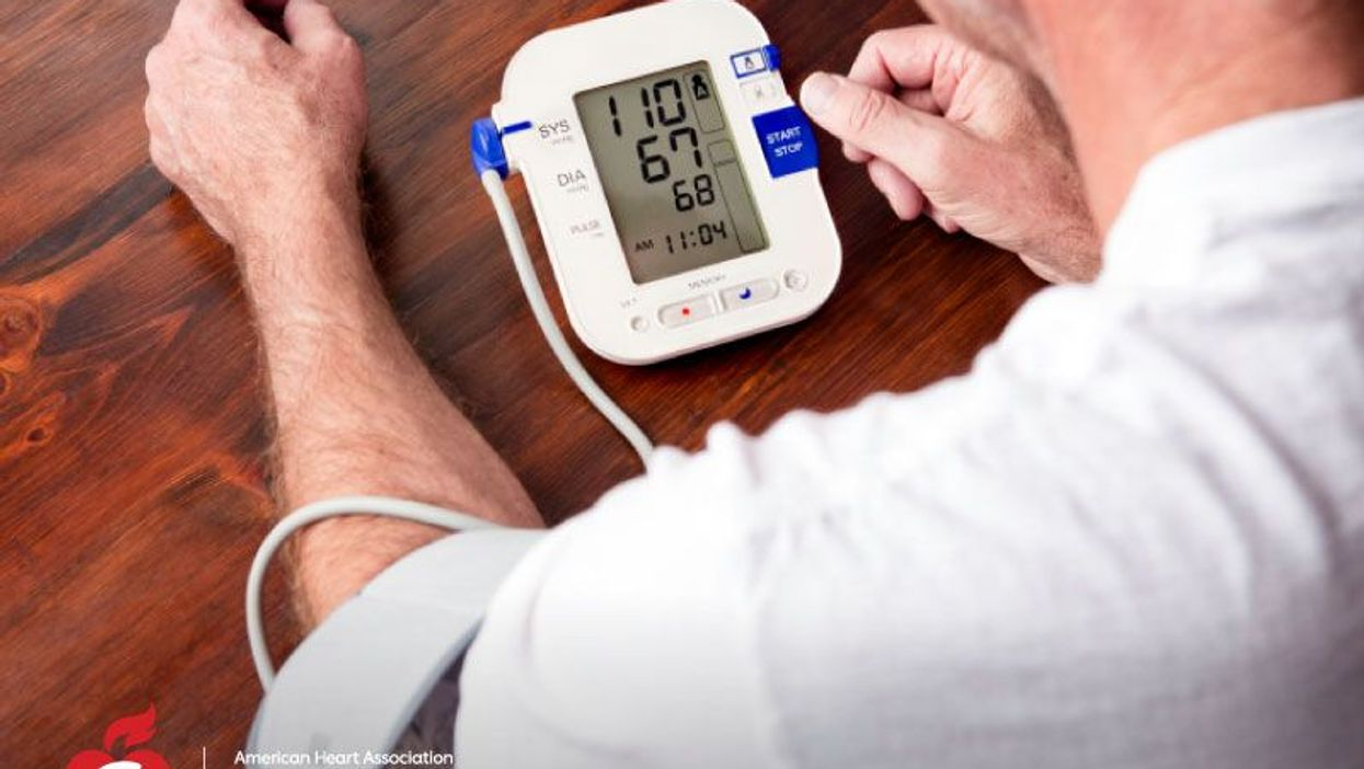 How many days of home blood pressure checks are needed to diagnose hypertension?