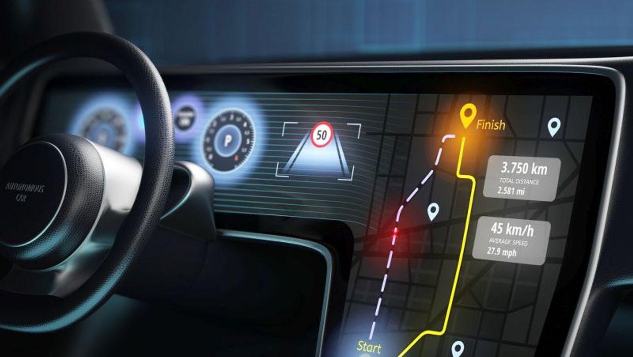 driver assistance console