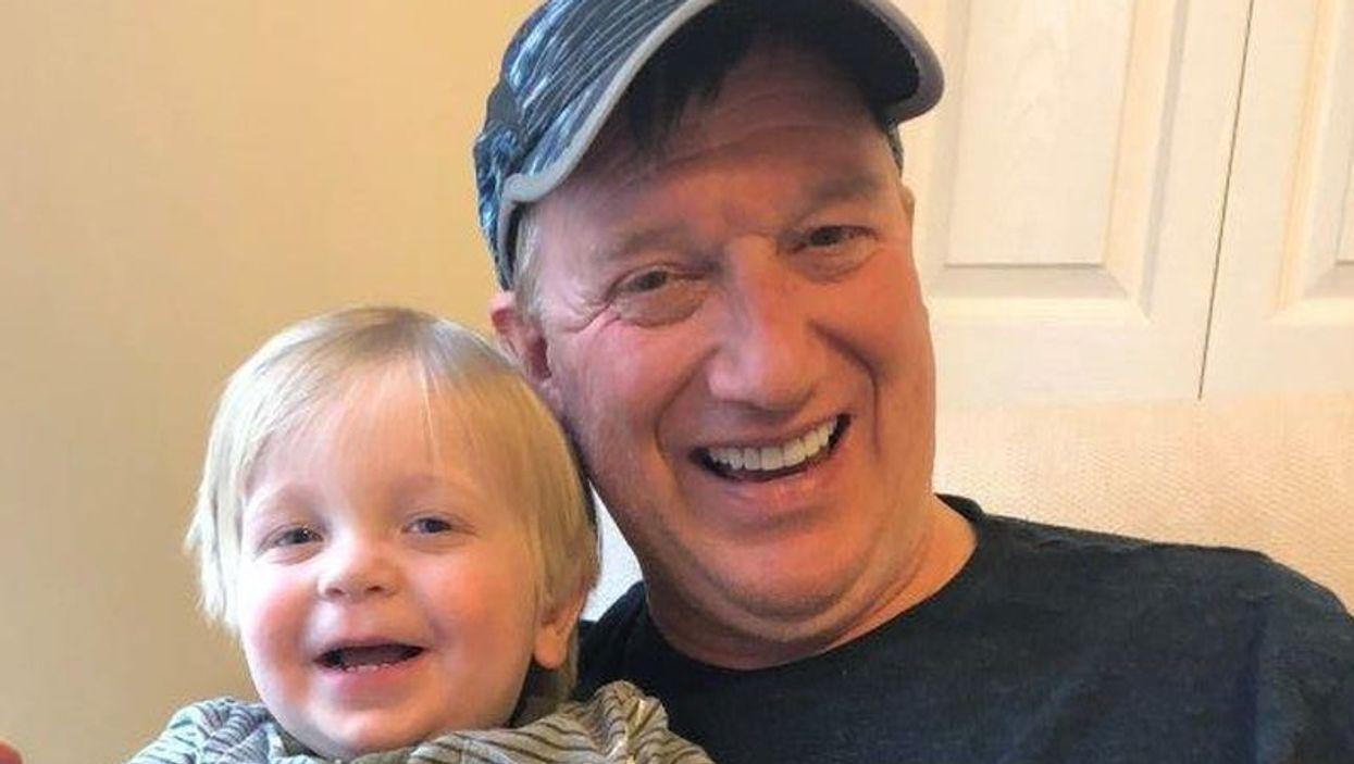 Price Woodward and grandchild