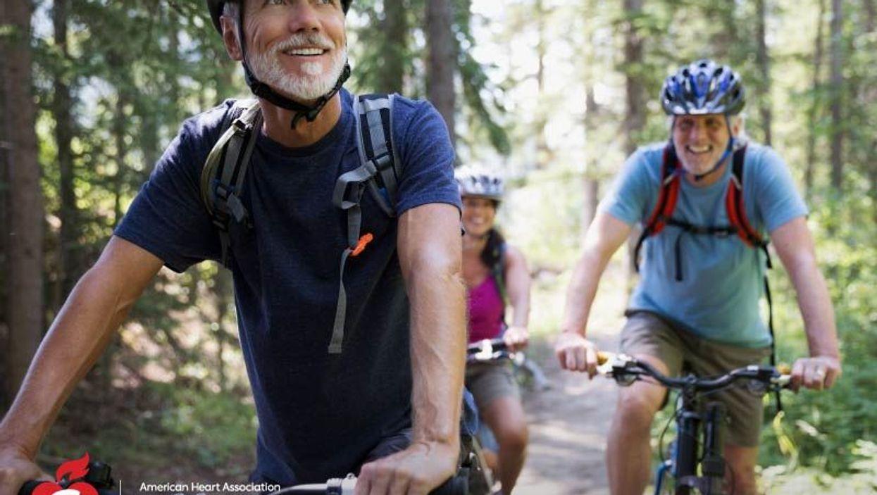 men on the bike