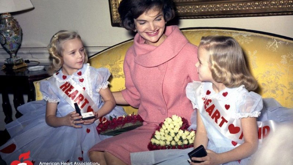Kids With Heart Defects Joined Forces With Jackie Kennedy to Raise Awareness