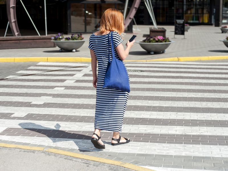 News Picture: U.S. Pedestrian Deaths Rose in 2020, Even Though Driving Declined
