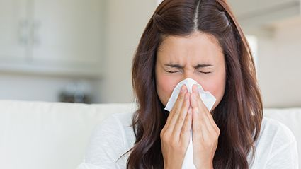 News Picture: Allergies Won't Up Your Odds for Severe COVID