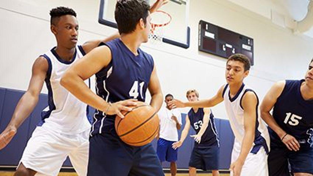 teens playing a team sport