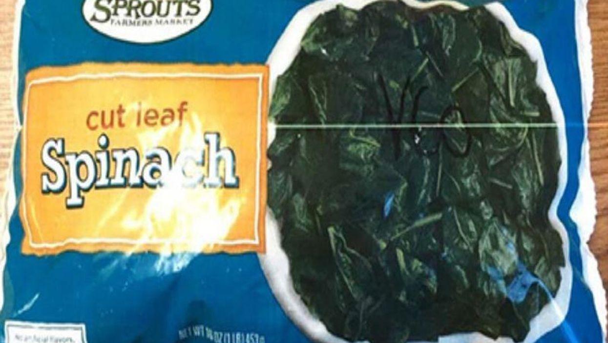 recalled spinach