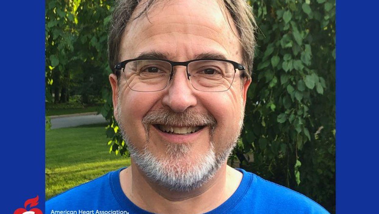 Heart attack survivor Michael Feldman