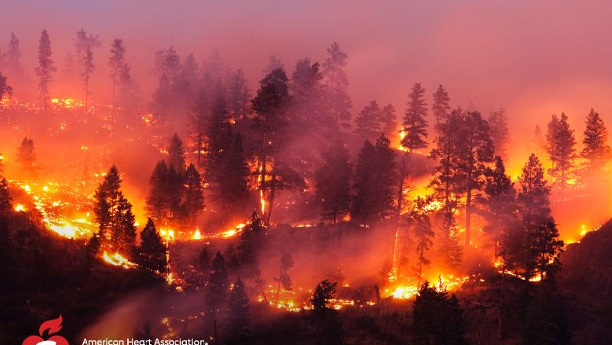 Where There\'s Wildfire Smoke, There May Be Heart Problems