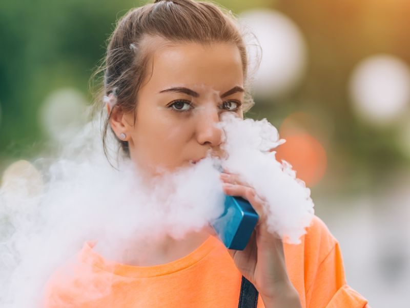 Youth Vaping Triples Odds for Adult Smoking