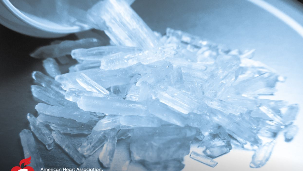 Meth and Heart Disease: A Deadly Crisis We Don\'t Fully Fathom, Report Says