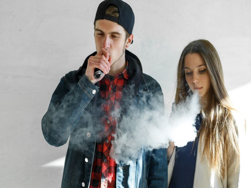 News Picture: U.S. Teen Vaping Rates Are Leveling Off But Still High