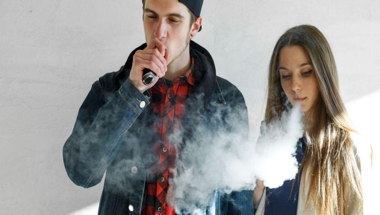e-cigarette vaping
