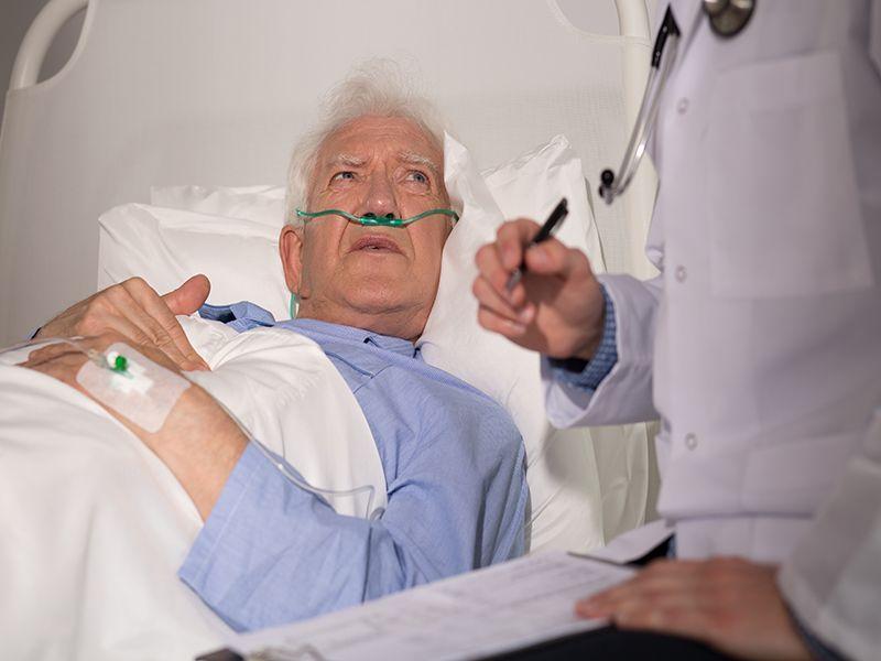 News Picture: COVID Plus 'Bleeding' Stroke Doubles a Patient's Death Risk
