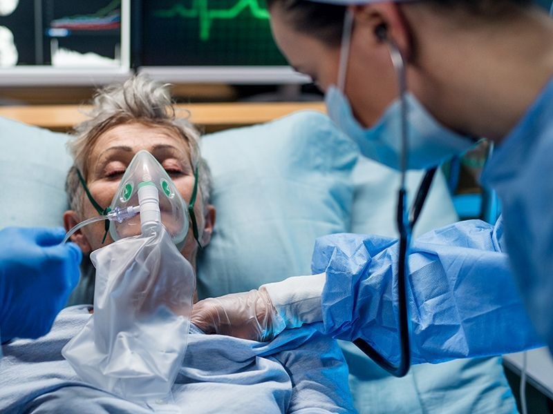 Death Risk Nearly Doubles When COVID Strikes People With Heart Failure