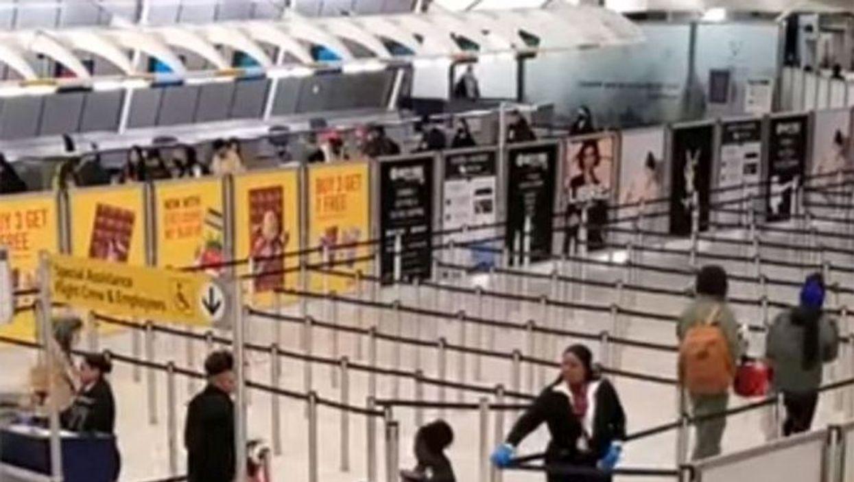 John F Kennedy Airport, New York City