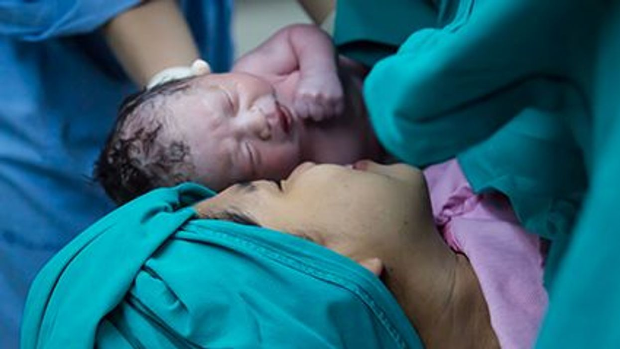 Why a Newborn's First Breath Is So Important