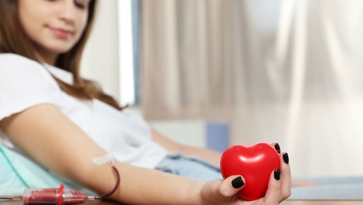 teen blood donor