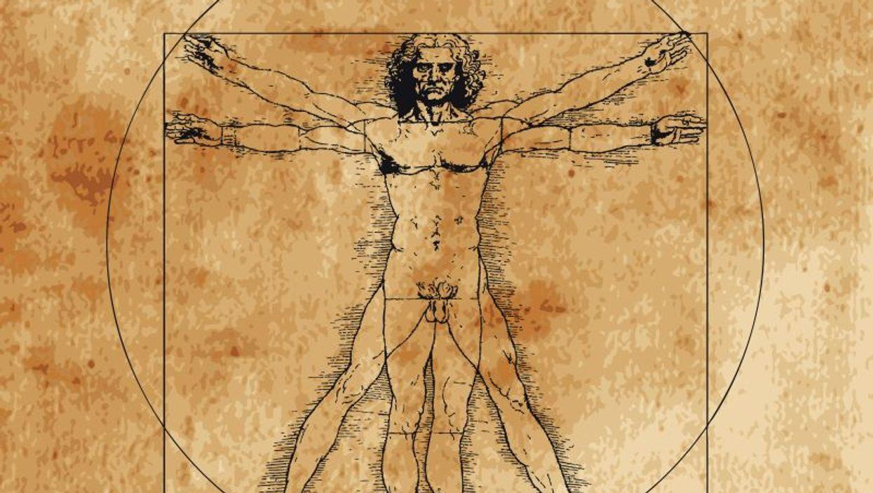 Leonardo\'s vitruvian man