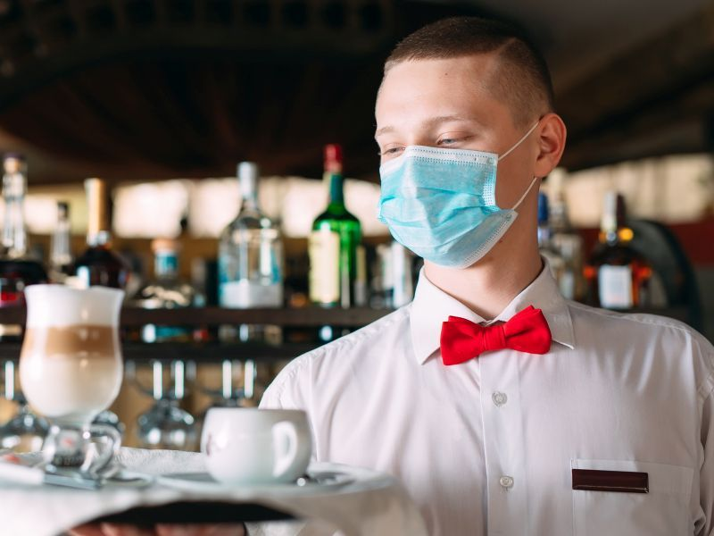 News Picture: Biden Administration Weighing National Face Mask Standards for Workplace