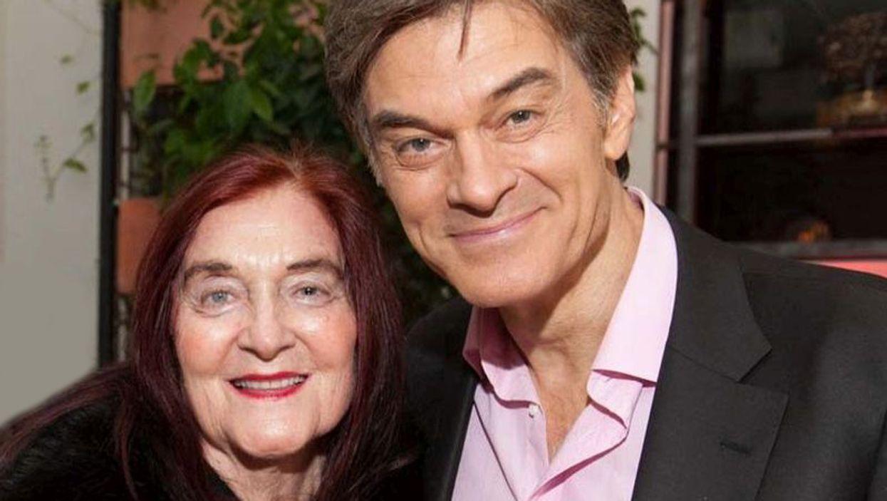 Dr. Mehmet Oz and mother Suna