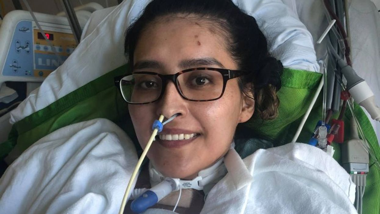 Mayra Ramirez in recovery after transplant