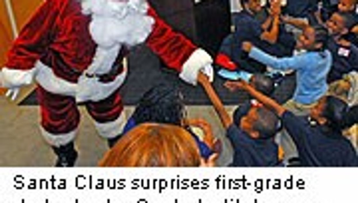 Scientists Marvel at Santa's Stamina