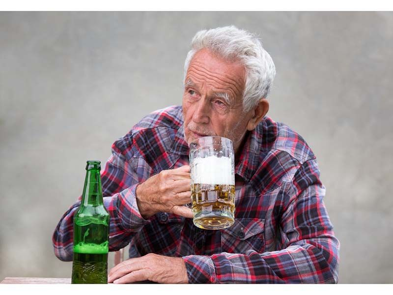 News Picture: Even 1 Drink a Day May Raise Your Odds for A-Fib