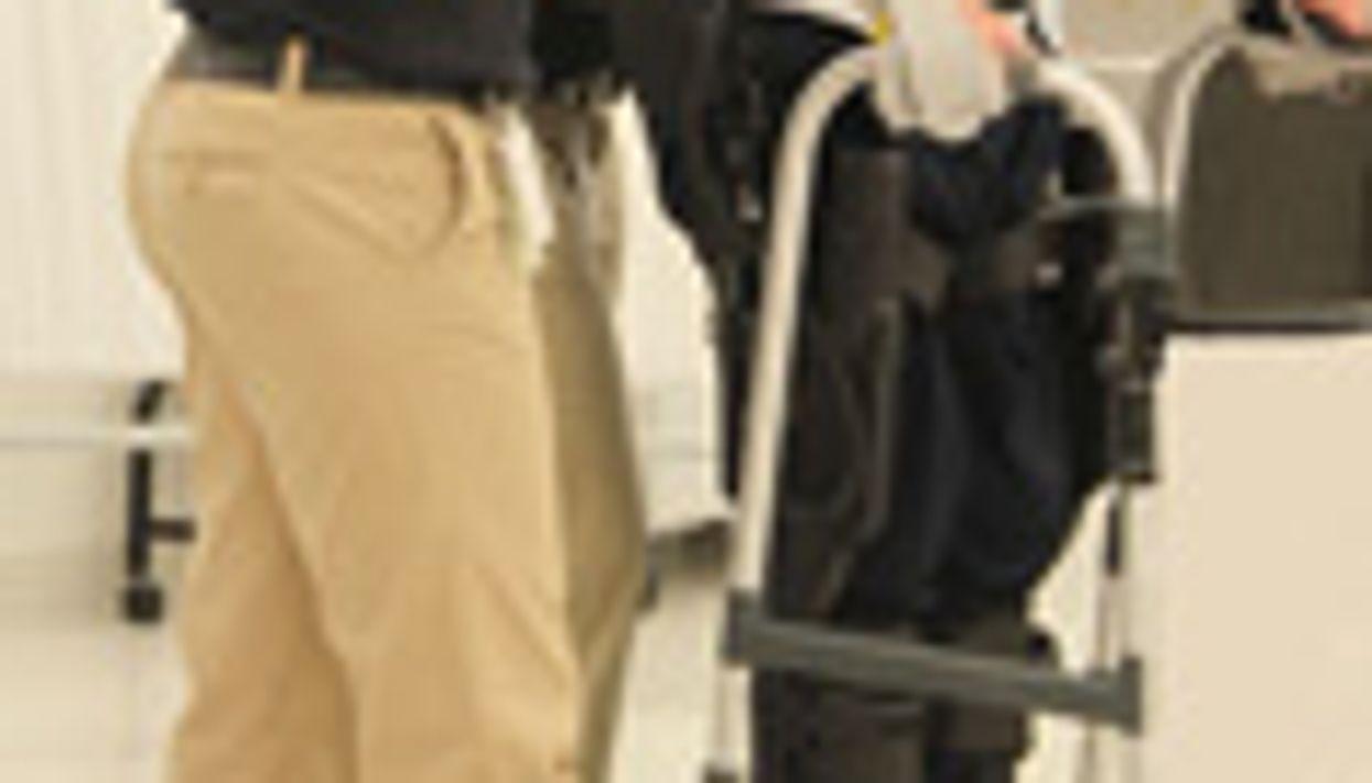 'Exoskeleton' Helps Paralyzed Stand, Take Steps