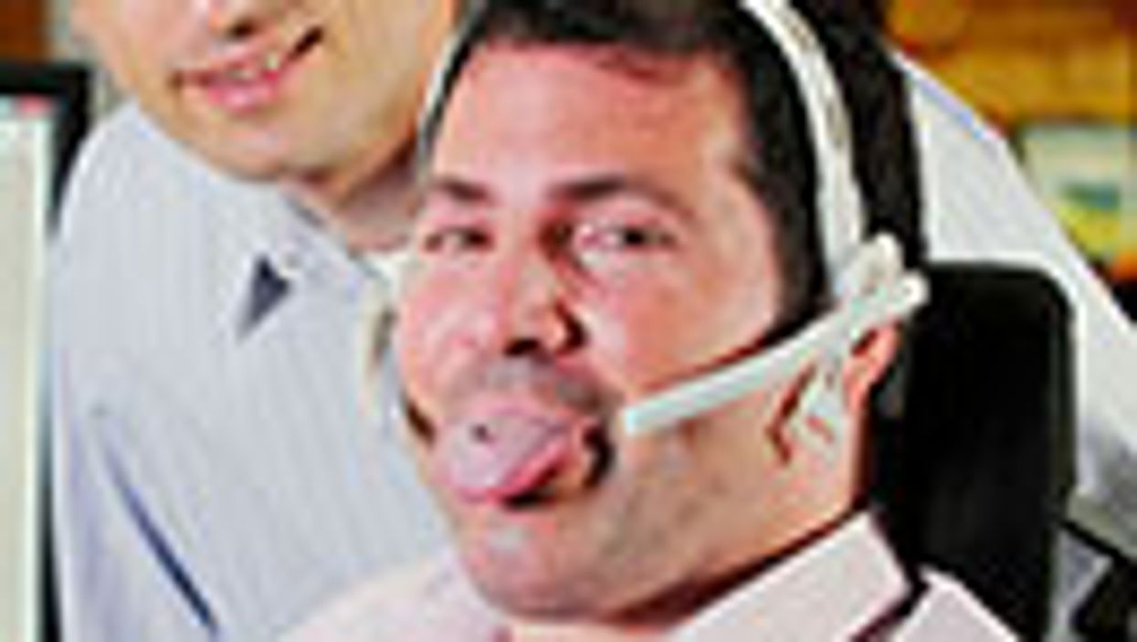 Tongue Piercing Helps Paralyzed People Drive Wheelchairs