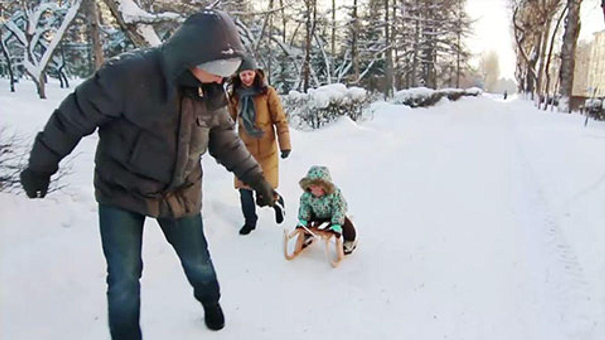 Fun Family Winter Workouts