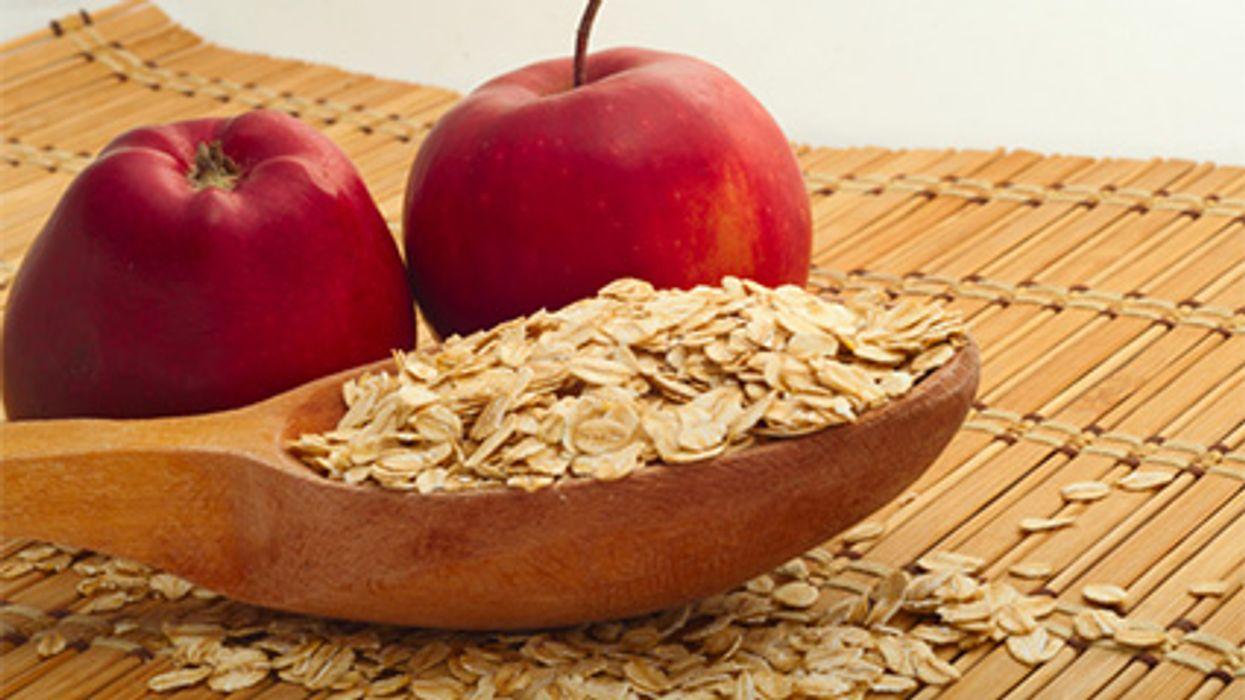 La fibra en la dieta y los infartos