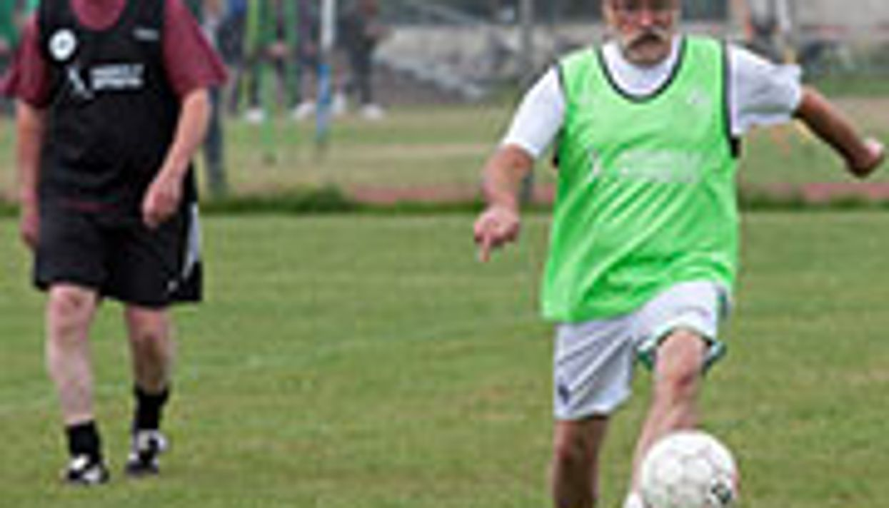 Soccer Scores a Goal for Senior Fitness