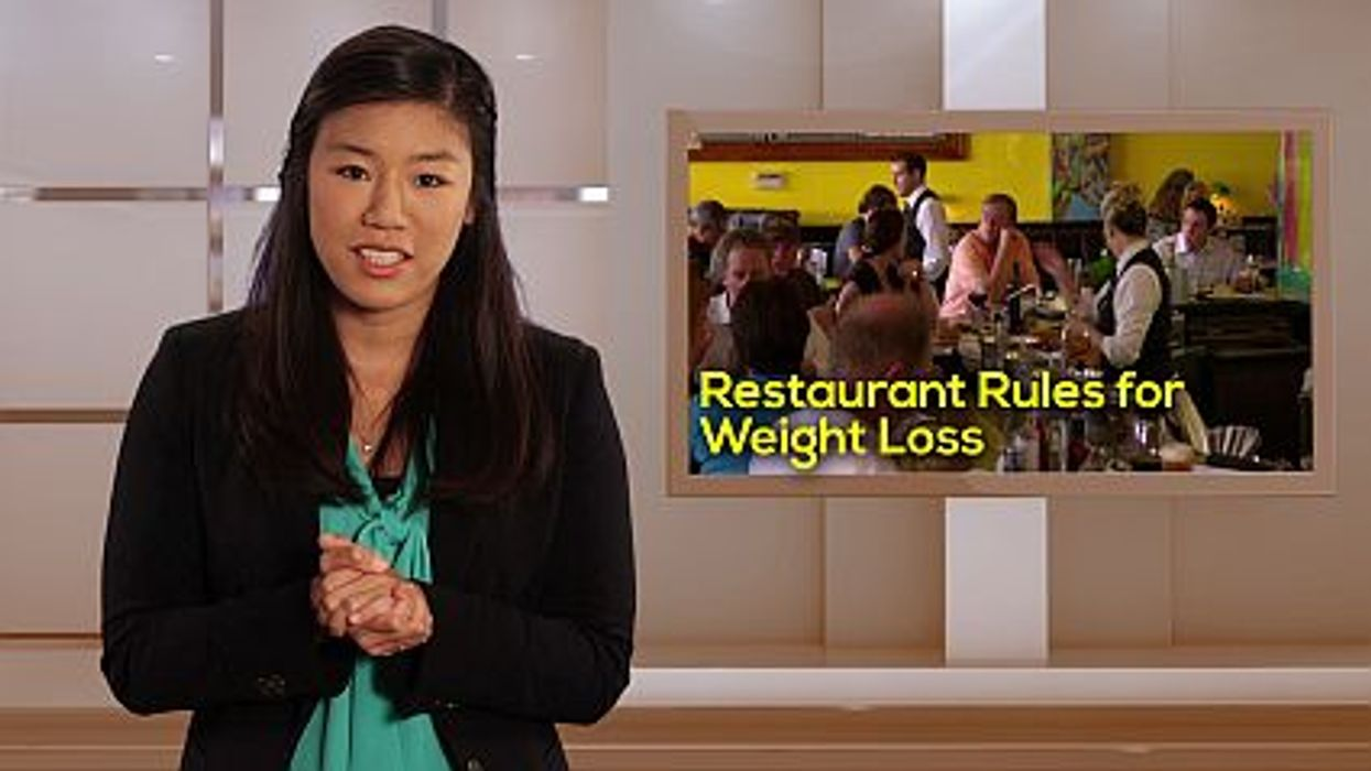 Restaurant Rules for Weight Loss