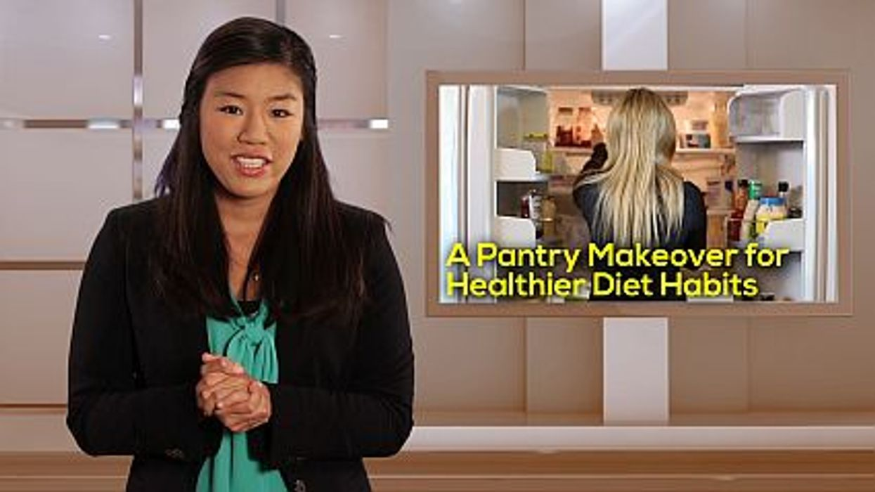 A Pantry Makeover for Healthier Diet