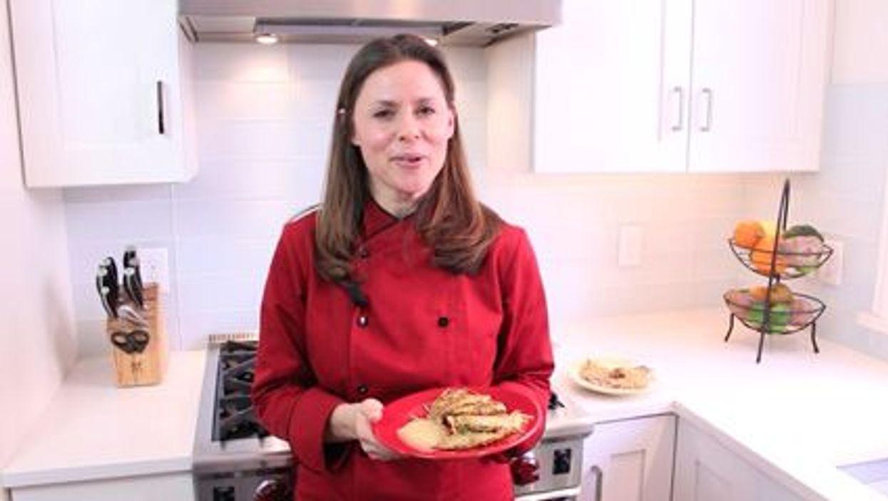 Healthier Potato Pancakes