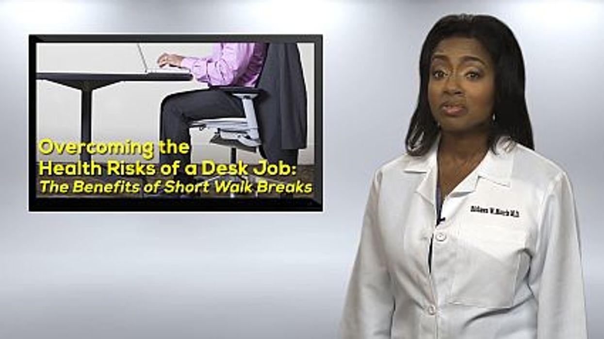 Overcoming the Health Risks of a Desk Job