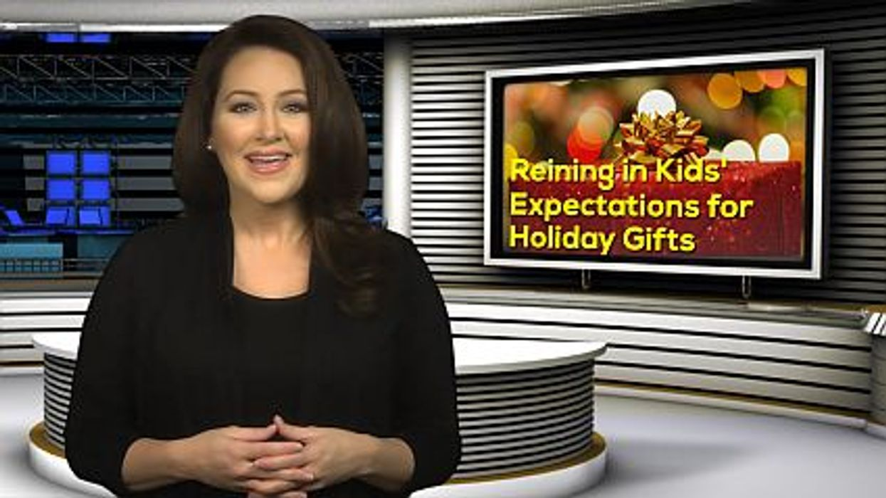 Reining in Kids' Expectations for Holiday Gifts