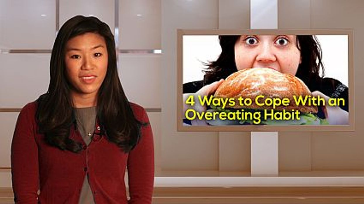 4 Ways to Cope With an Overeating Habit
