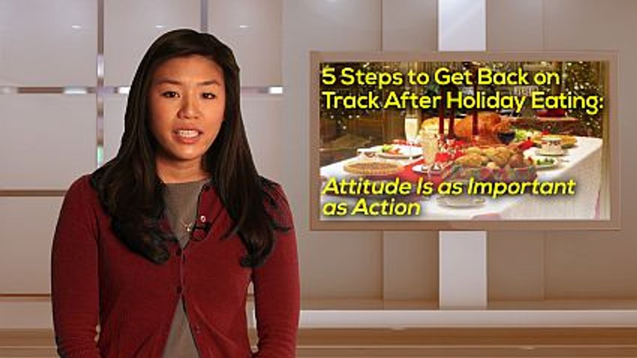 5 Steps to Get Back on Track After Holiday Eating