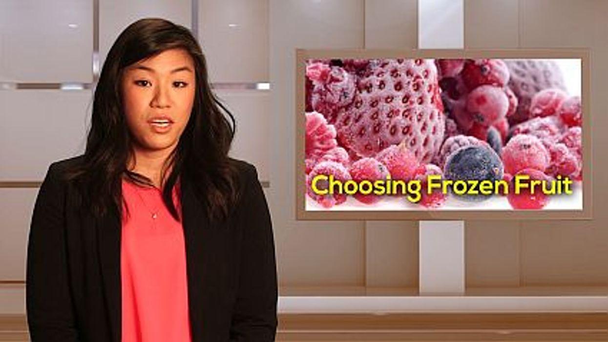 Choosing Frozen Fruits