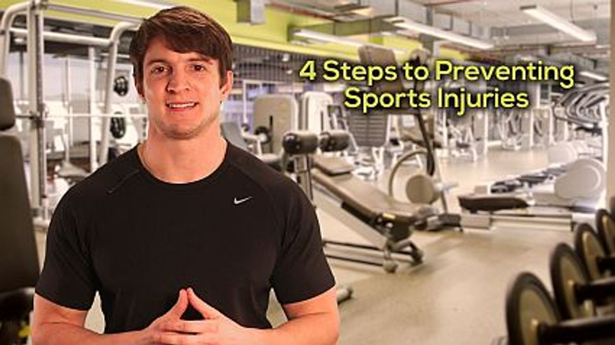 4 Steps to Preventing Sports Injuries