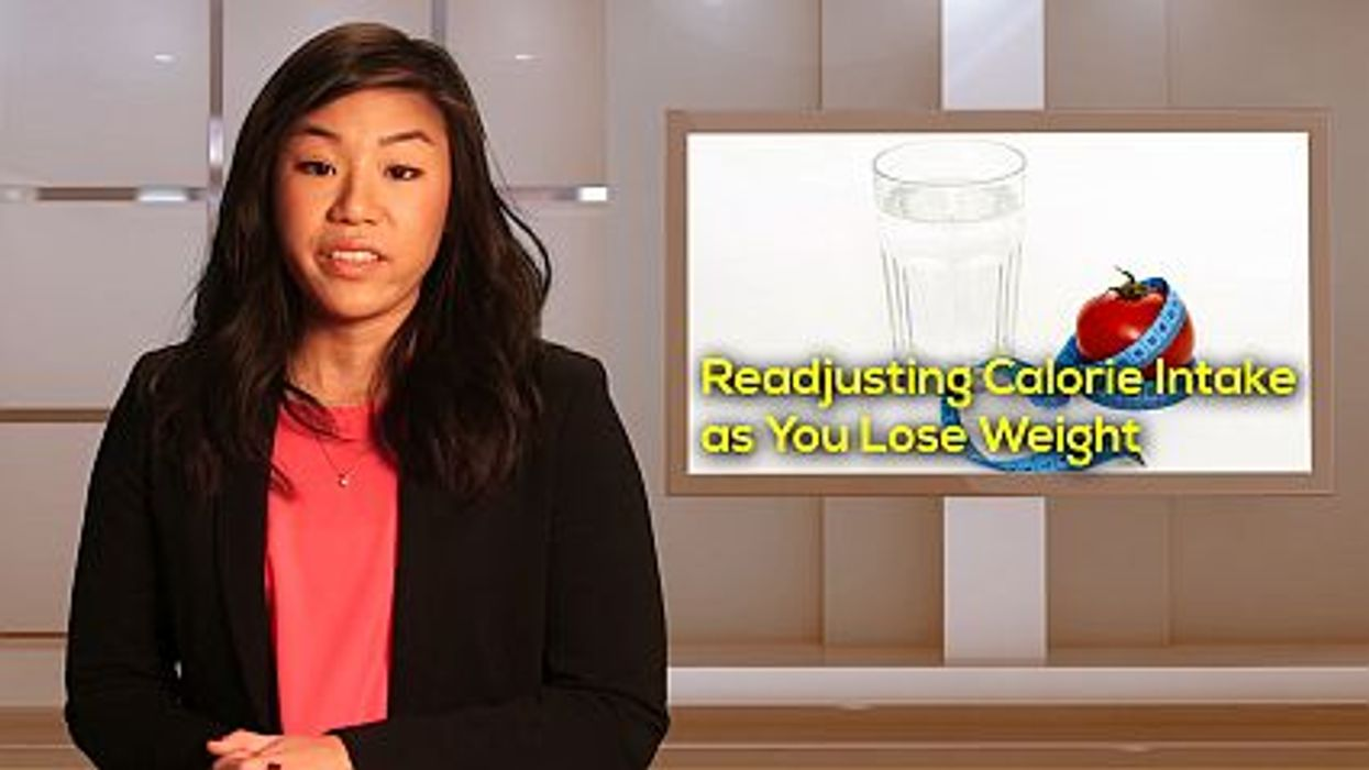 How to Readjust Calories as You Lose Weight