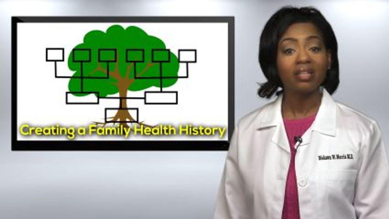 Creating A Family Health History