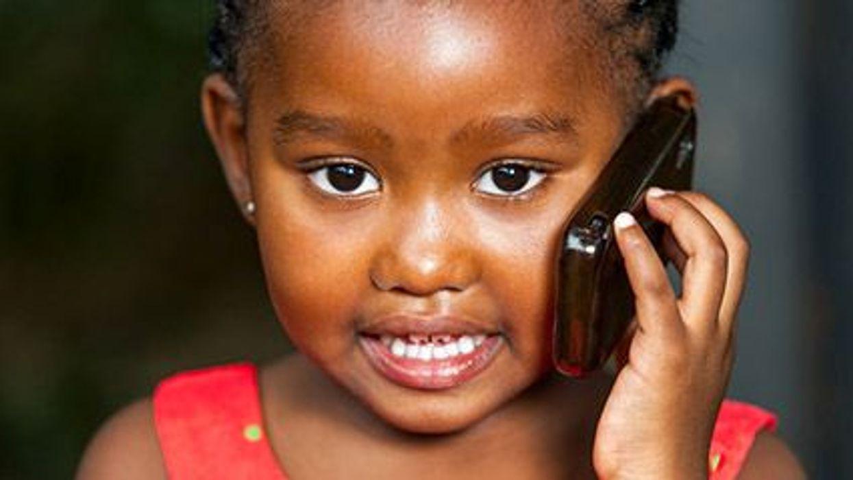 Los niños y los dispositivos móviles