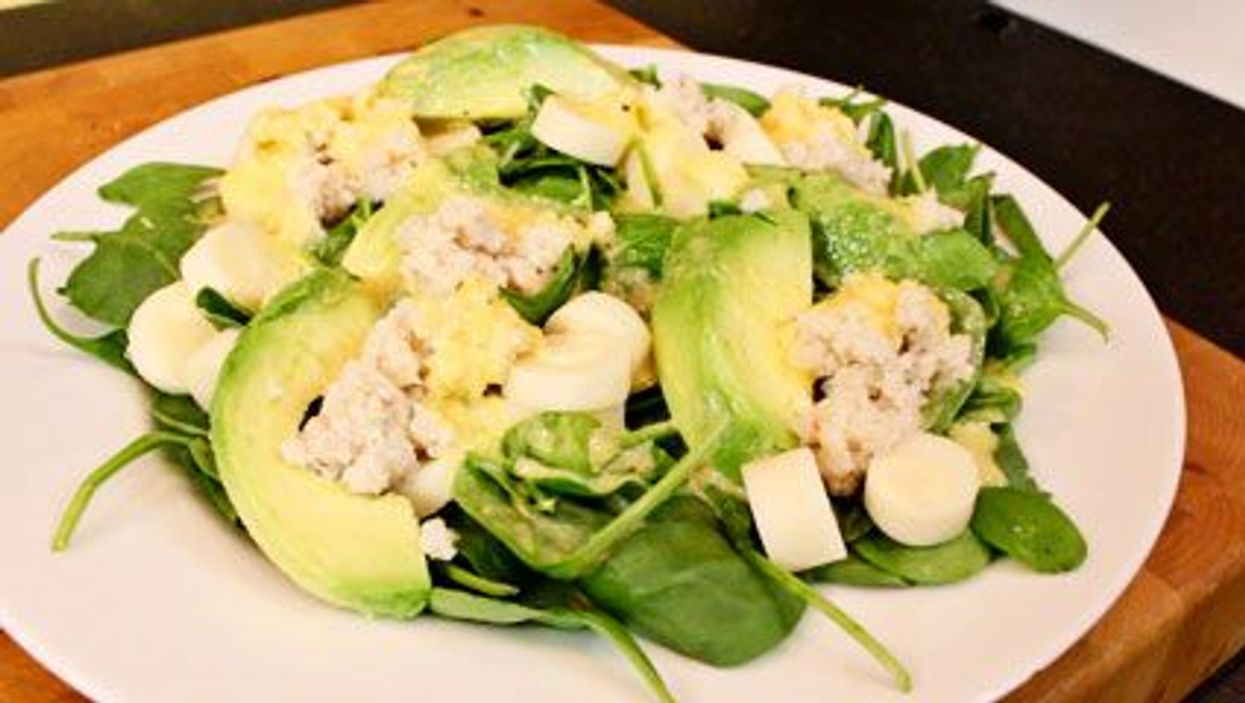 Marvelous Mother's Day Crab Salad