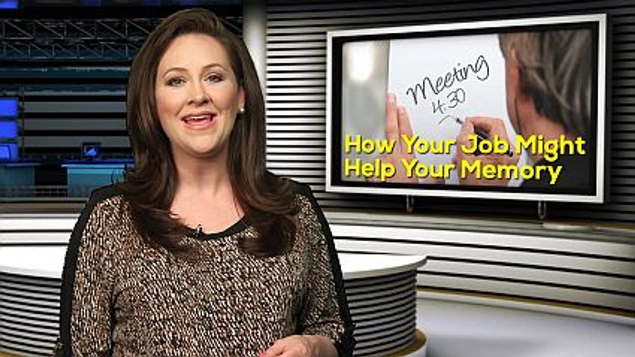 How Your Job Might Help Your Memory