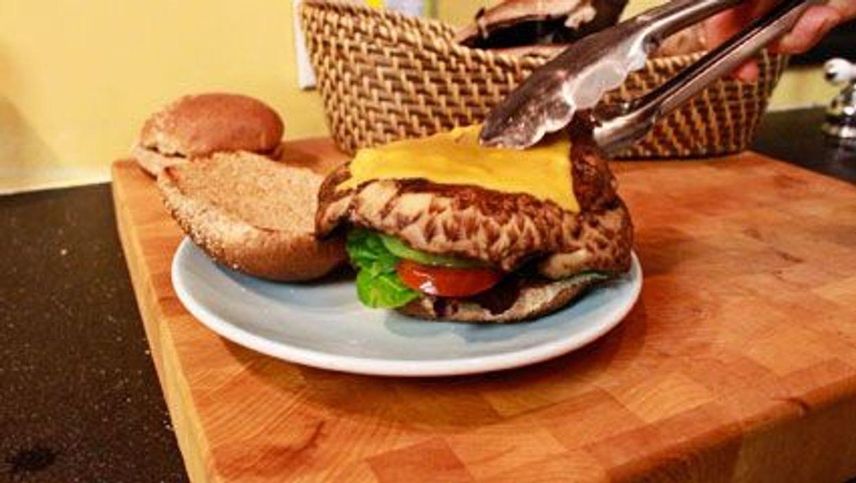 Grilled Portobello Burgers In A Snap